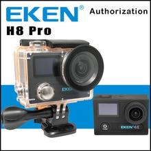 Action Kamera EKEN H8 PRO Fernbedienung Ultra HD 4 Karat Ambarella A12 WiFi 170 Helm action Cam gehen wasserdicht pro Sport kamera