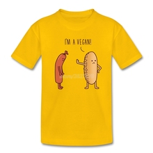 """I'm a Vegan"" kids t-shirt"
