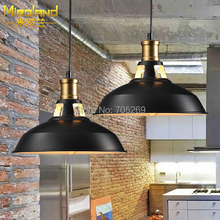 American retro chandelier industrial wind creative personality single head iron coffee shop dining room bedroom lighting