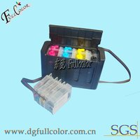 Continuous ink system 932 ciss for hp officejet 6600 with ink and permanent chip