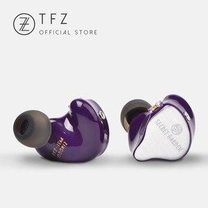 Image 4 - The Fragant Zither TFZ SECRET GARDEN In Ear Earphone HIFI Monitor IEM Sports Earphones 2Pin Headset Heavy Bass Stage DJ Earbud