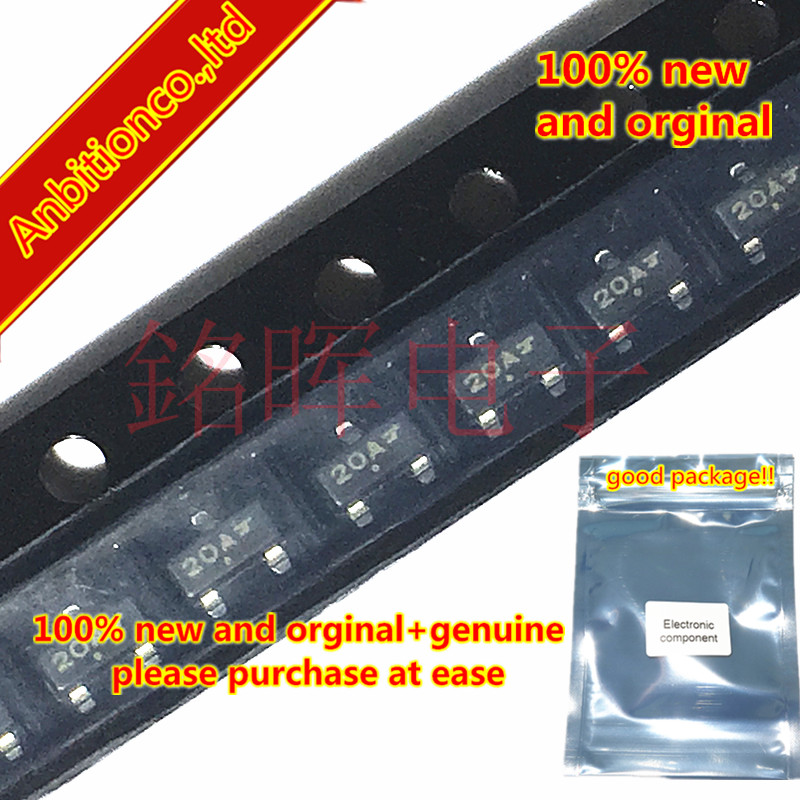 10-20pcs 100% New And Orginal MMBZ20VALT1G Silk-screen 20A SOT23 20V 24 And 40 Watt Peak Power Zener Transient Voltage  In Stock