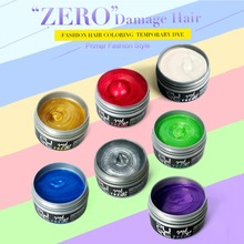PURC Fashion Dye Color Instrant Hair Colour Fashion Hair Care Hair Styling Products 7 Color