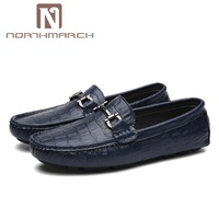 NORTHMARCH Summer Shoes Men Classic Leather Loafers Mens Slip On Driving Shoes Men Crocodile Pattern Men Casual Shoes Moccasins