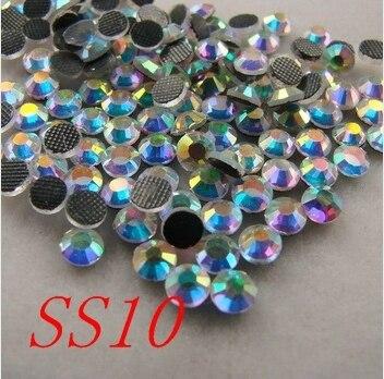 Crystal White AB SS10 DMC Hot fix Rhinestones 1440pcs bag lot  87474e72ac8b