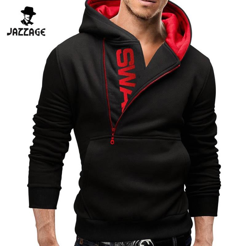 Hoodies Män 2018 Märke Sweatshirt Män Hoodies Fashion Solid Hoodie - Herrkläder - Foto 2