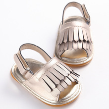 Newborn Baby Girls Shoes Soft Sole PU Leather Baby