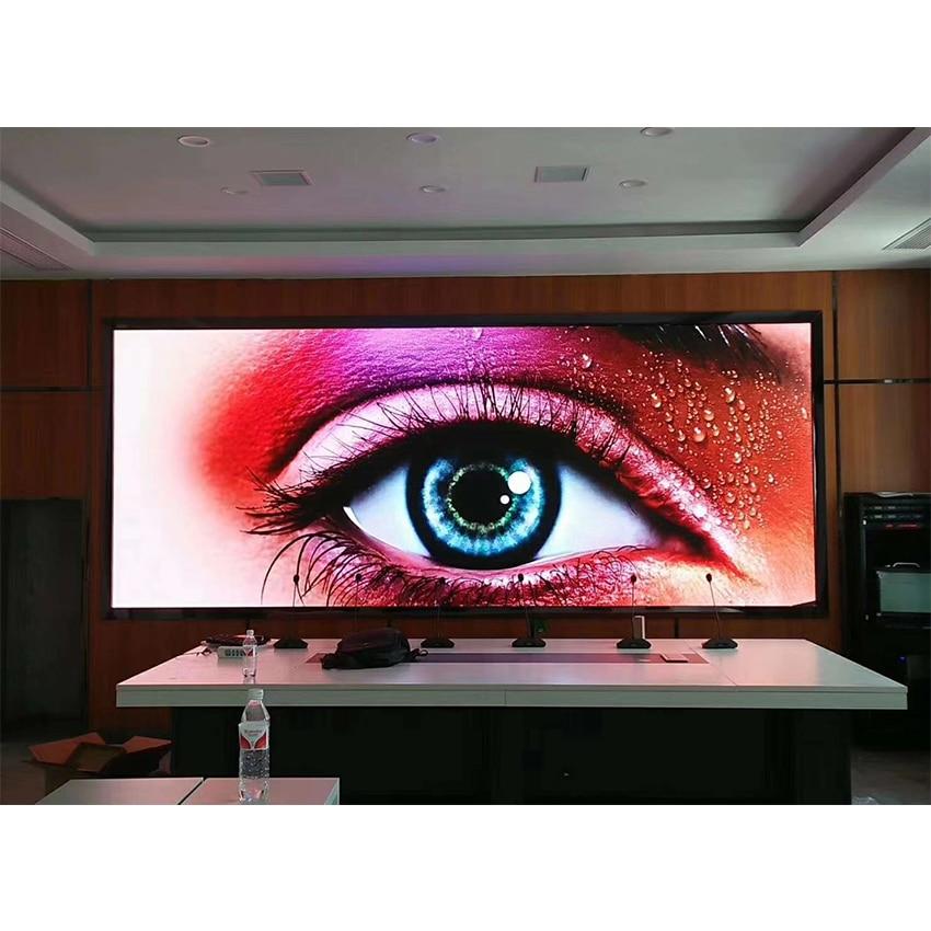 P6 Indoor LED Display Big Screen 576x576mm Die Casting Aluminum Cabinet HD High Brightness Waterproof Advertising Billboard