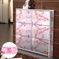 Cabinet color change furniture decoration sticker PVC waterproof high temperature resistance imitation marble decorative sticker