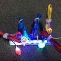 1m Cartoon LED Light Charger Micro USB Cable For Sony Xperia T3 M2 M4 M5 C4 C5 L35H L36H L39H for iPhone 5 5s SE 6 6s Plus