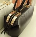 New 2016 Crocodile Pattern Brand Women Handbag Fashion Big Totes Bag Women Leather Bags Handbags Messenger Bag X20-116