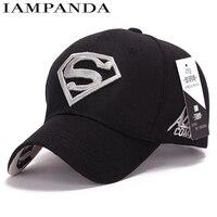 IAMPANDA Brand 2017 NEW Cotton Unisex Super Heros Baseball Cap Snapback Caps Couple Fashion Shade Golf