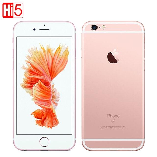 Разблокирована apple iphone 6s plus мобильный телефон ios 9 dual core 2 ГБ ОПЕРАТИВНОЙ ПАМЯТИ 16/64/128 ГБ ROM 5.5 ''12.0MP Камера LTE Используется iphone6s plus