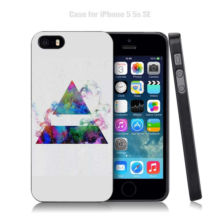 30 Second To Mars 30STM Black Plastic Case Cover Shell for iPhone Apple 4 4s 5 5s SE 5c 6 6s 7 Plus