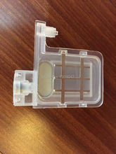 100pcs transparent damper double clips with square head for Epson DX4 /DX5 Head damper compatible with eco-solvent and Water ink