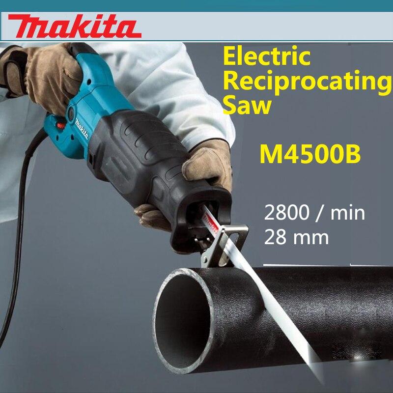 Neue Japan Makita M4500B Elektro stichsäge Speed Regulierung Holz Metall Schneiden Maschine 2800/min 28 mm Saber Saw