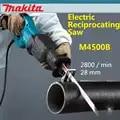 New Japan Makita M4500B Electric Reciprocating Saw Speed Regulation Wood Metal Cutting Machine 2800/min 28 mm Saber Saw