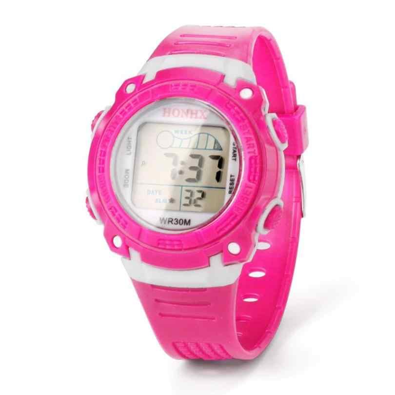 cebe1913d Hot Children s Watches Life Waterproof Multifunction Sport Digital Watch Girls  Boy Wristwatches For Children Kids Dropshipping