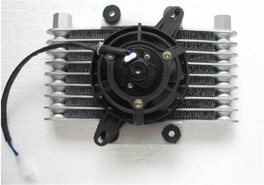Water Cooler Electric Radiator Cooling Fan For 200cc 250cc Quad Atv 4 Wheeler Go Kart Dirt Pit Motor Bike Motorcycle UTV