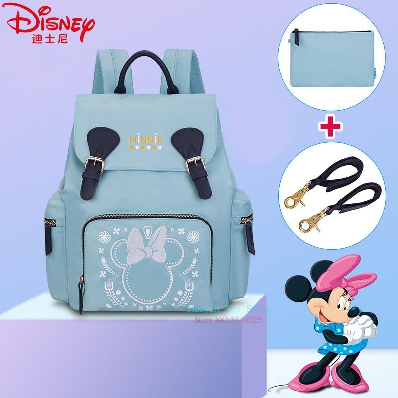 Véritable sac momie Disney multifonction grande capacité Camouflage sac à dos Bolsa Maternidade poussette Nappy sac bébé couche sac à main