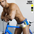 Hero boxer underwear men boxers fashion men's underwear side fight breathable mesh cloth men flat foot underpants cuecas 1225