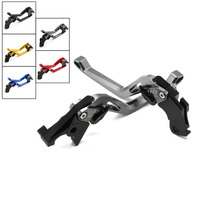 FX CNC Aluminum Adjustable 3D Rhombus Motorcycle Brake Clutch Lever For Yamaha FZ1 FZ8 FZ6R FZ6 FAZER XJ6 DIVERSION XSR 700 900