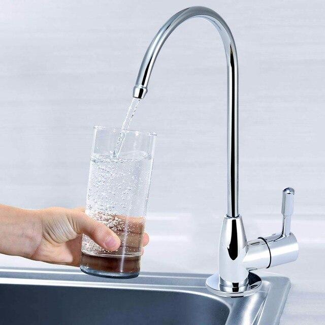 Abs Plastic Plating Purifier Faucet Kitchen Sink Tap 14 Ceramic