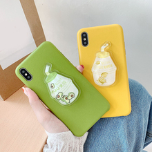 Newest Phone Back Cover for iphone X XR XS Max Dynamic Liquid Avocado Phone Case Cover For iPhone XS Max XR X 6 7 8 Plus Fundas цена и фото