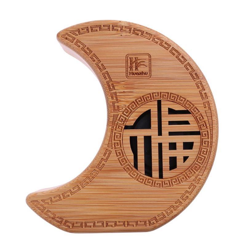 vanpower Bamboo Shape Speaker Portable Wireless Bluetooth Music Soundbox Display Clock Alarm Loudspeaker with Micphone