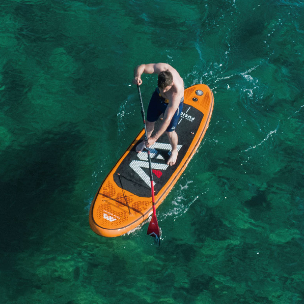 FUSION 3 15m 15cm Inflatable Sand Up SUP Paddle Board with Carry Backpack Air Pump Fin Safety Rope Paddle in Surfing from Sports Entertainment