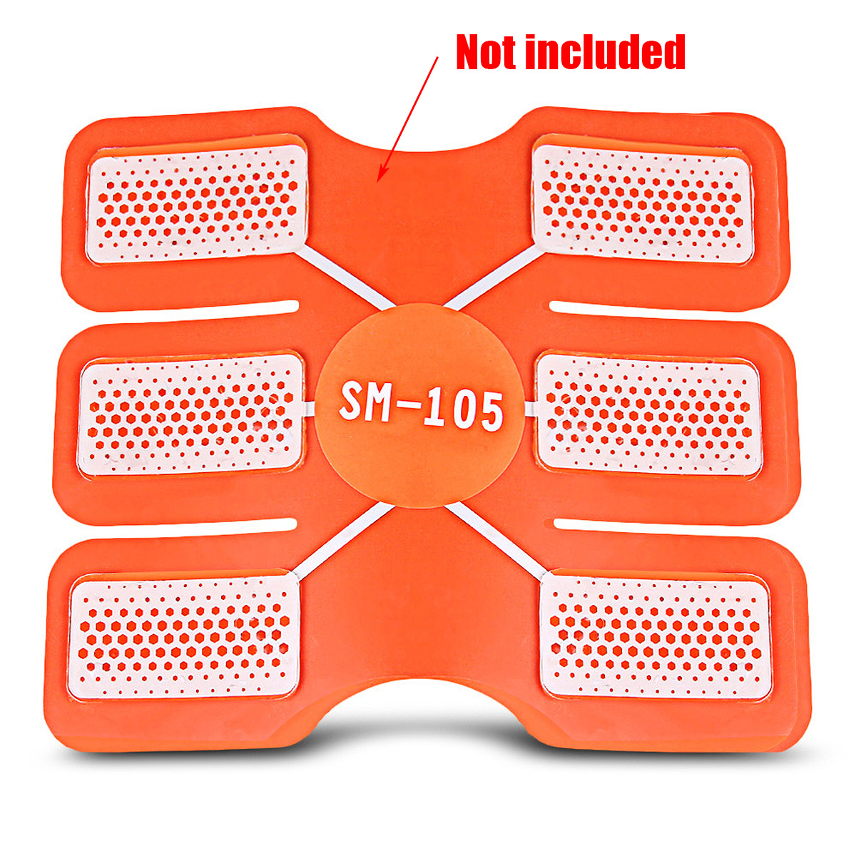 4/10PCS Replacement Gel Sheet Pad For Muscle Training Gear ABS Body ...