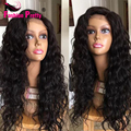 Unprocessed Virgin Brazilian Middle Part Glueless Body Wave Wig With Baby hair Full Lace Wigs Human Hair For Black Women