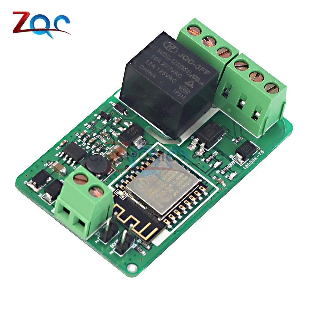 ESP8266 Relay Module 10A 220V Network Relay WIFI Module Input DC 7V~30V esp 07 esp8266 uart serial to wifi wireless module