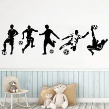Diy Beckham football Wall Sticker Pvc Wall Art Stickers Modern Fashion Wallsticker For Kids Rooms Nursery Room Decor Decal Mural