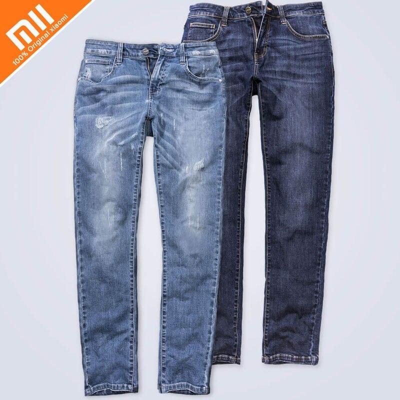 Xiaomi 90 points confortable jeans hommes modèles Jeans hommes droit hommes pantalons d'hiver hommes long pantalon lâche travail au travail