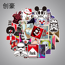 Mixed 100 PCS Cute Animal Sticker Luggage Skateboard Vinyl Decals Car Styling Laptop Bike Toy Waterproof