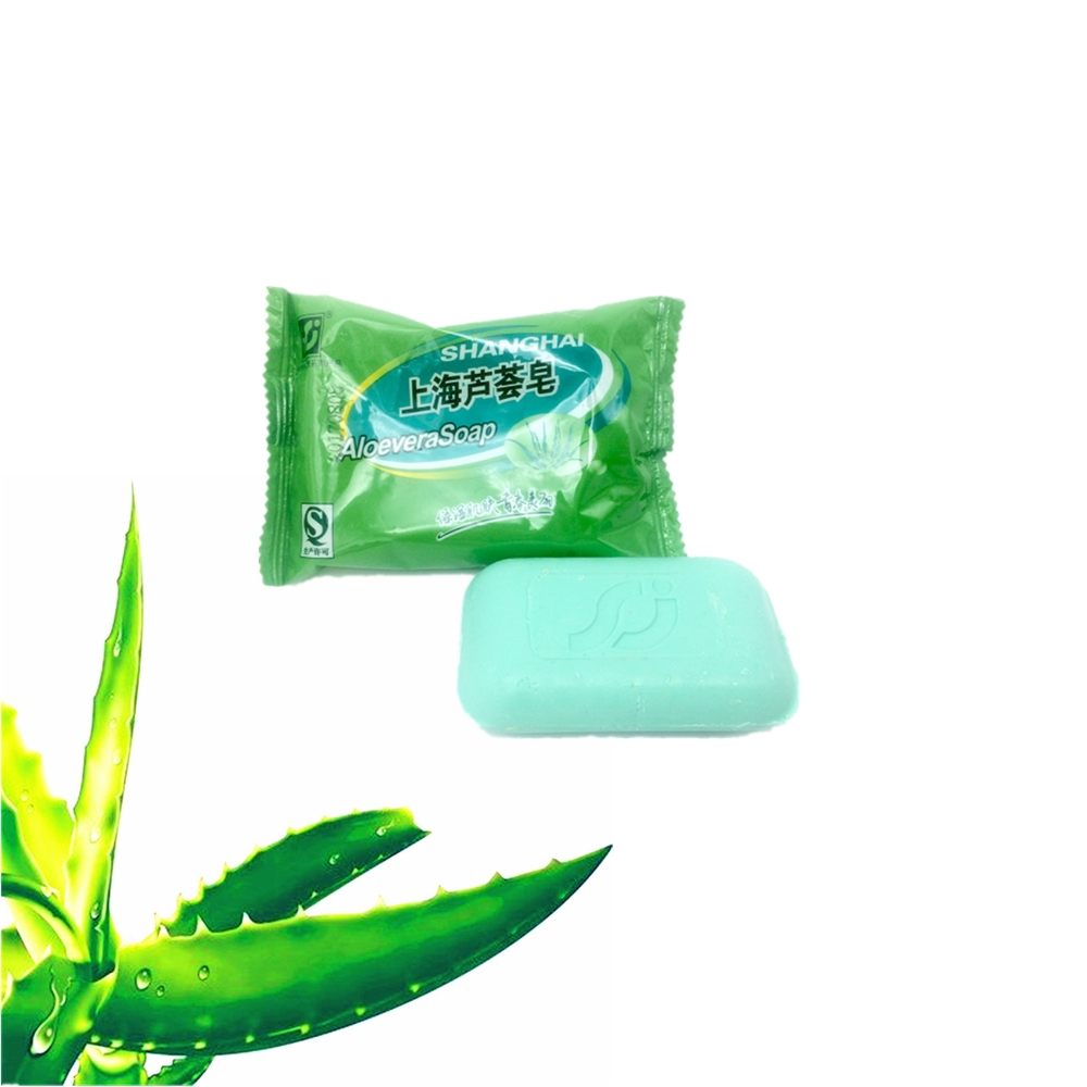 Pure Natural Plant Aloe Vera Essence Oil Soap 85g Anti-wrinkle Whitening Face Soap Moisturizing Nourishing Body Care