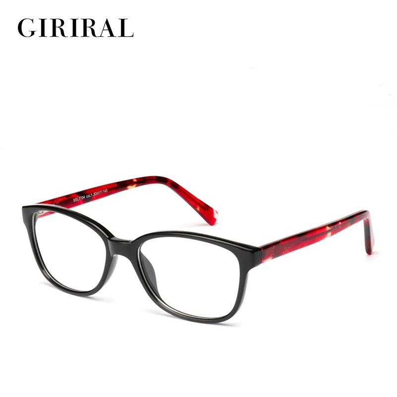 2018 Frauen Tr90 Brille Rahmen Myopie Designer Vintage Marke Transparent Mode Optische Brillen Rahmen # Sel7704