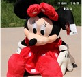 Newborn 2PC A Couple 33cm Mini Lovely Mickey Mouse And Minnie Mouse Stuffed Soft Plush Toys Baby birthday gift  girl prensent