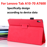 Роскошный чехол для Lenovo a7600 Tablet покрытия принципиально капа, флип Кожа PU Смарт задняя крышка для Lenovo Tab a10-70fa7600 10.1 чехол