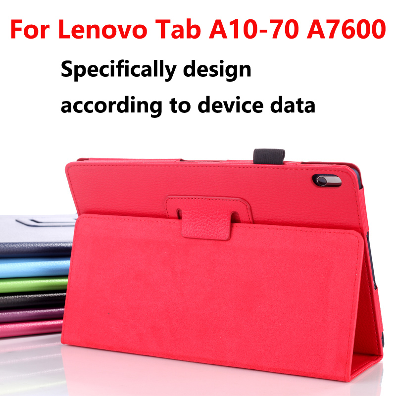 Luxury Case for Lenovo A7600 Tablet Cover funda Capa,Flip PU Leather Smart Back Cover for Lenovo Tab A10-70F A7600 10.1 Case new original for lenovo thinkpad yoga 260 bottom base cover lower case black 00ht414 01ax900