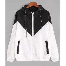 Women's Hooded Jackets Autumn Spring Causal windbreaker Basic Jackets Coats Zipper Lightweight Jackets Bomber Famale Plus Size конструктор электронный ocie солнечный робот 1csc 20003265