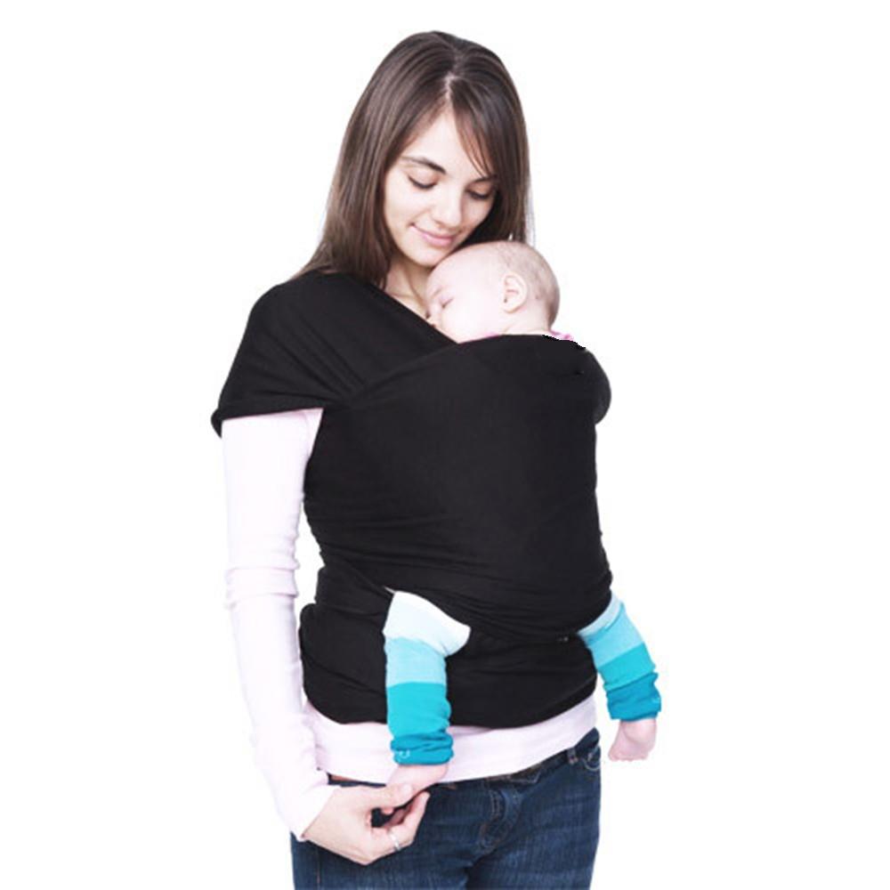 Baby-Sling-Stretchy-Wrap--Newborn-Sling- 100%-Cotton-high-grade-Kangaroo-Infant-Sling--Classic-popular-Carrier -BB0021 (5)