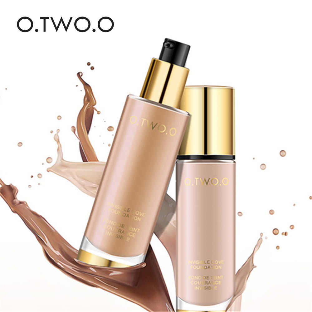 O.TWO.O Professional Liquid Foundation Full Coverage Make Up Concealer Whitening Moisturizer Oil control Waterproof Base Makeup