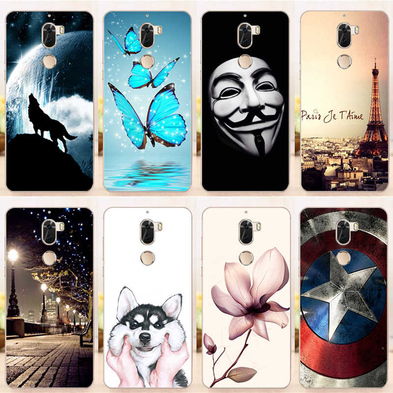 online retailer 990c8 b9593 Soft TPU Cover Fundas for Coolpad Cool Play 6 Cartoon Back Cover Silicone  Case for Coolpad Play 6 Cool 6 Play
