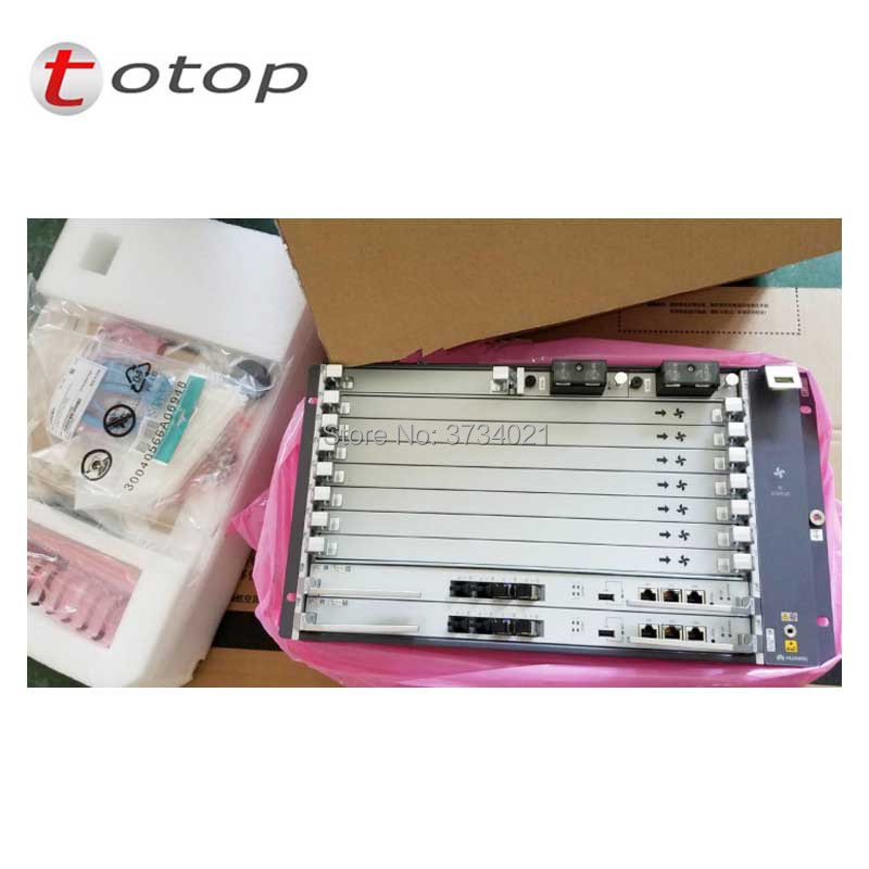 Huawei MA5800-X7 GPON OLT con Telaio + 2 * MPLA + 2 ** PILA + 2 * GPHF C + e Accessori, 16 SFP Modulo C + OLT