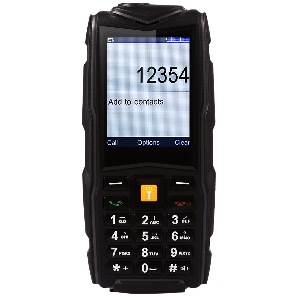 Original V3 Rugged Mobile Phone With <font><b>Power</b></font> Bank IP67 Dual SIM Card Camera 5200mAh Waterproof Phone Dustproof
