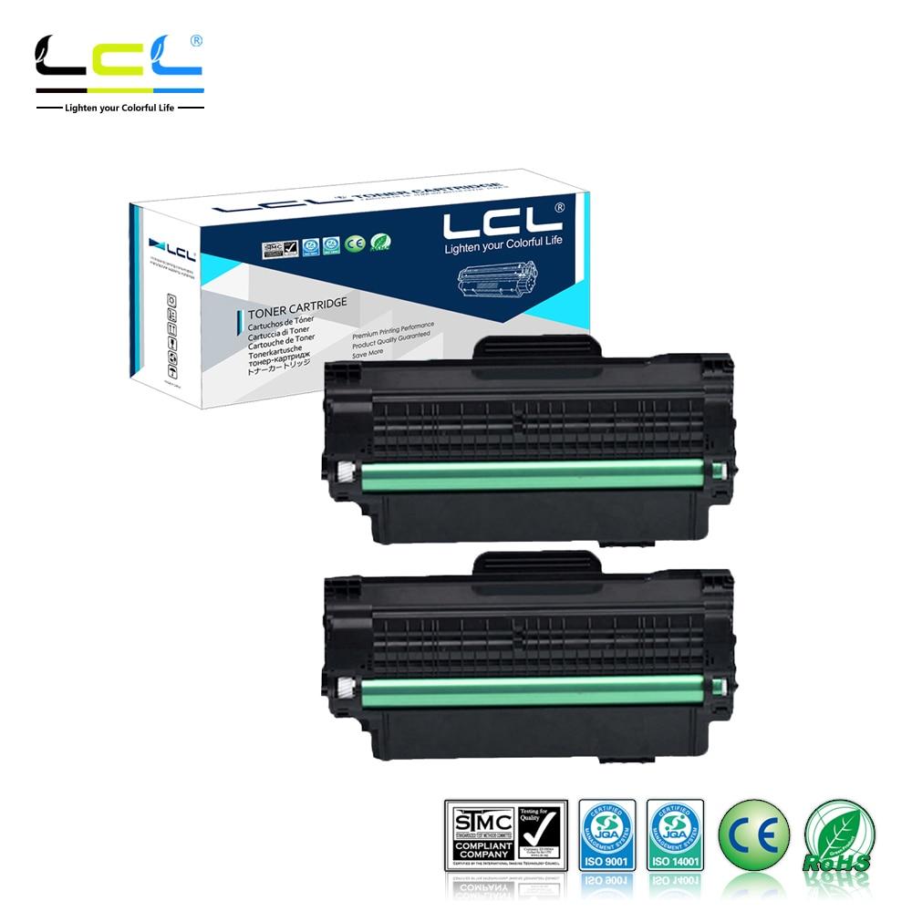 LCL MLT-D115L D115L D115 115L (2-Pack Black) Laser Toner Cartridge Compatible for Samsung SL-M2620/2820/M2670/2870 lcl ct201632 ct201633 ct201634 ct201635 8 pack laser toner cartridge compatible for fuji xerox dp cm305df dp cp305d