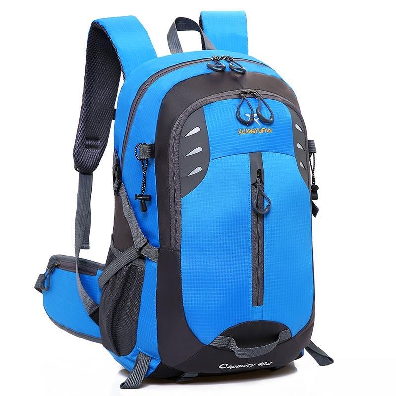 Mens backpack Nylon waterproof Travel bags Men and women design Bag Mountaineering backpack Student bag high capacity bags new