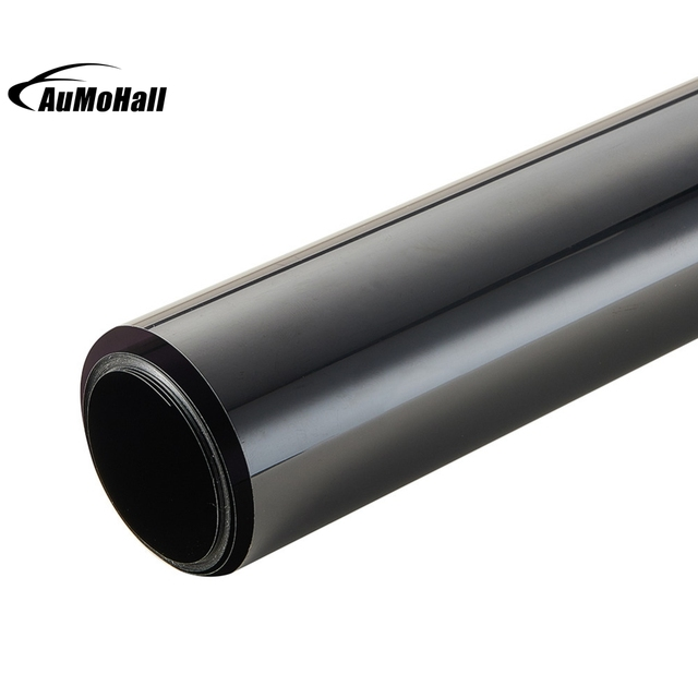 50*300cm Black Window Tint Film Glass 16% Roll 2 PLY House Commercial Tinting Protection UV+Insulation Car Side Window Tint Film